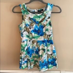 Paper Heart Floral Dress Size 8